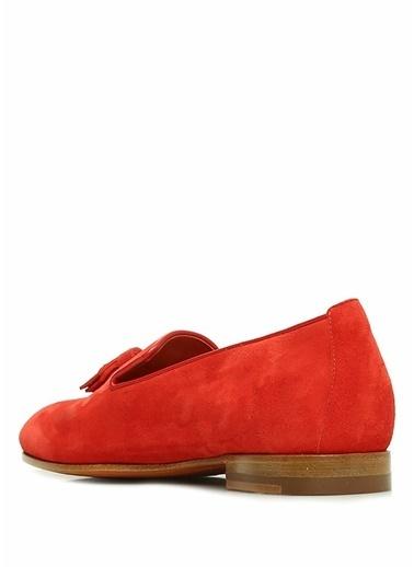 Santoni Ayakkabı Kırmızı